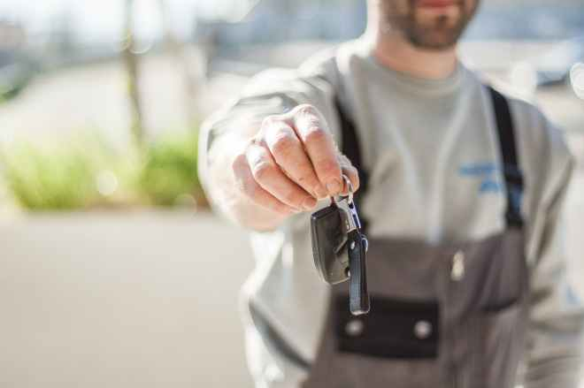 car driving keys repair